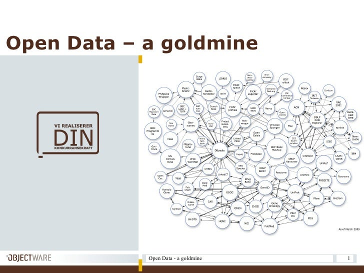 Open Data – a goldmine                 Open Data - a goldmine   1