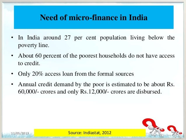 microfinance research papers in india Microfinance institutions (mfis) in india exist as ngos (registered as  the  microfinance sector, related online research papers and journals.