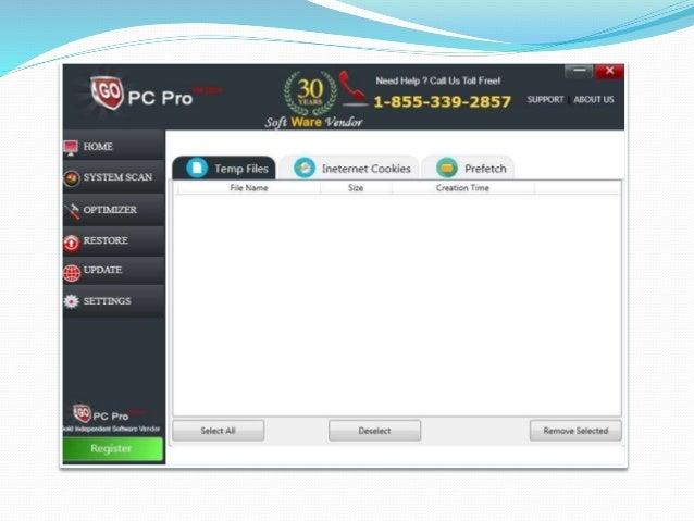 Gopcpro registry cleaner 2015