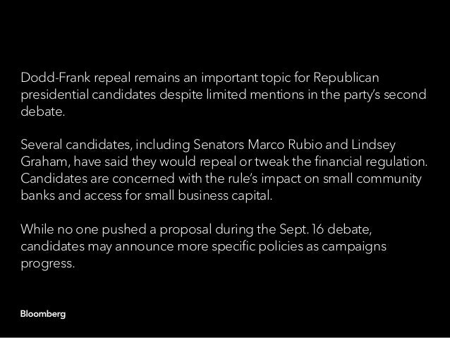Republican presidential candidates committed to Obamacare repeal