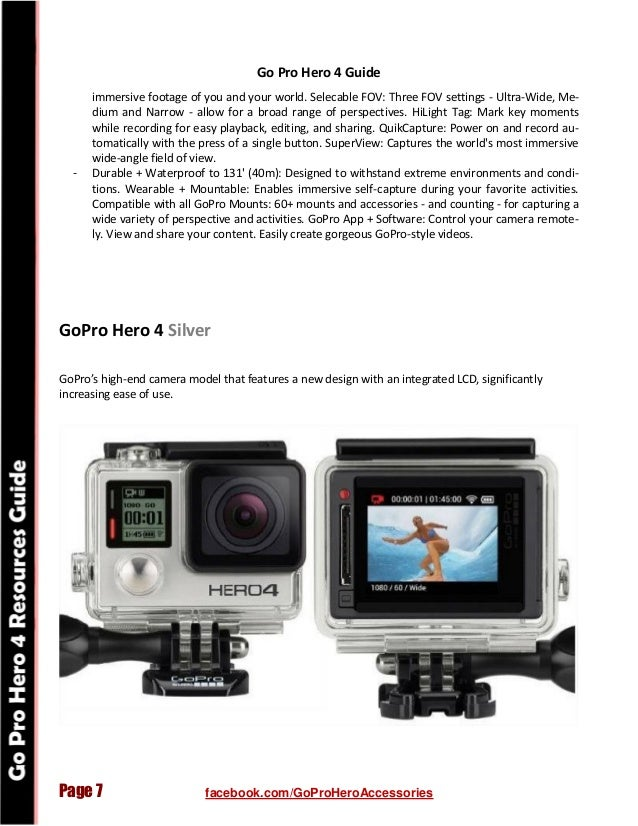 GoPro Hero 4 - Best Accessories and Resources Guide