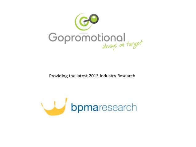 Providing the latest 2013 Industry Research