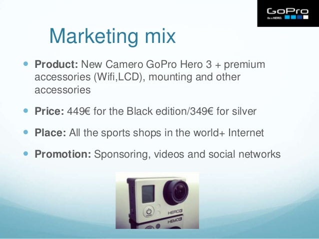 Marketing Mix Gopro