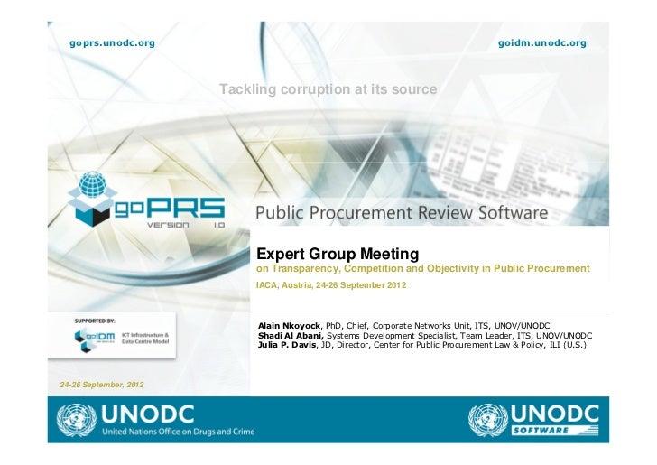 goprs.unodc.org                                                                        goidm.unodc.org                    ...