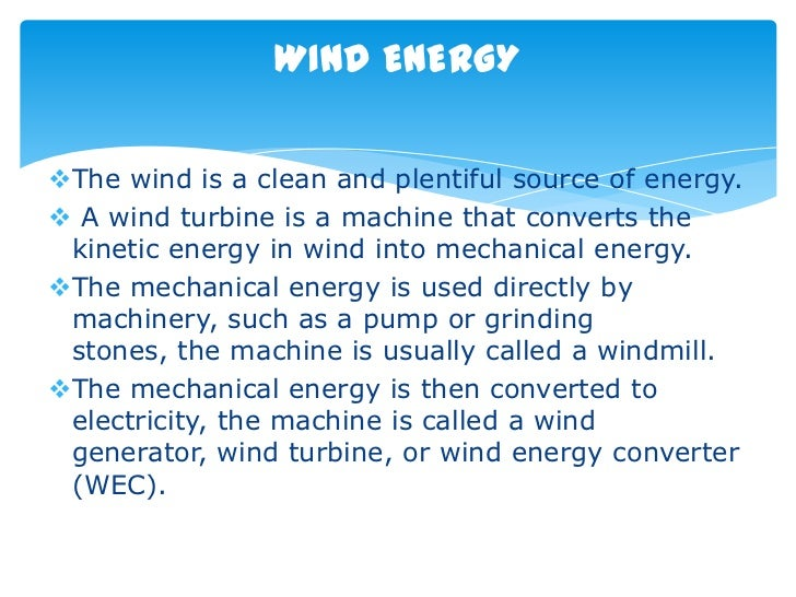 wind power Slide 2