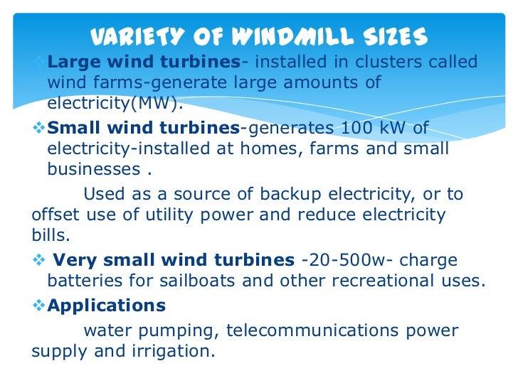 wind power Slide 3