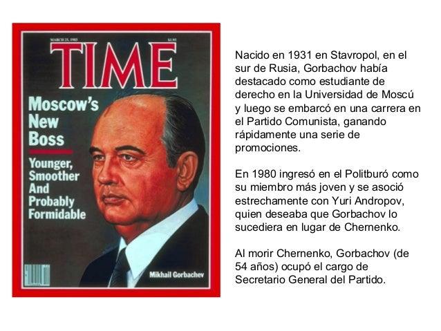 glasnost and perestroika Artigo sobre a chamada perestroika, uma reestruturação política da união soviética quando foi criada, seus objetivos,  juntamente com a glasnost.