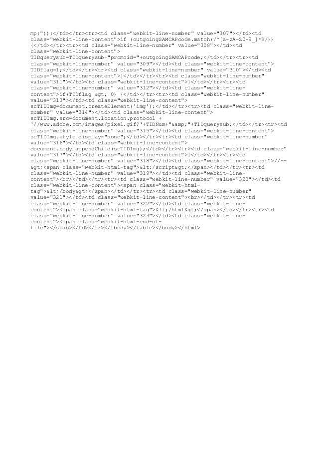 "mp;""));</td></tr><tr><td class=""webkit-line-number"" value=""307""></td><td class=""webkit-line-content"">if (outgoingSAMCAPcod..."