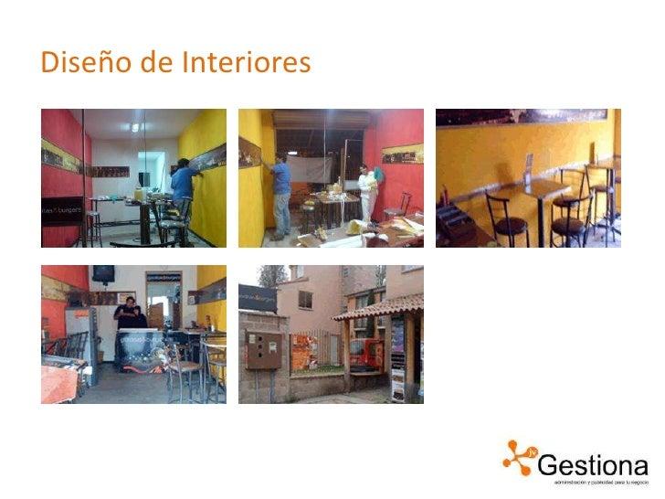 Gorditas and burgers for Curso de diseno de interiores en linea