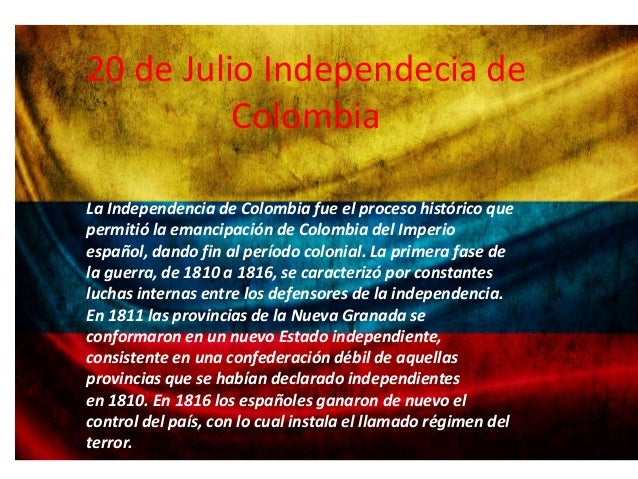 20 de julio dia de la independencia for Jardines 20 de julio bogota