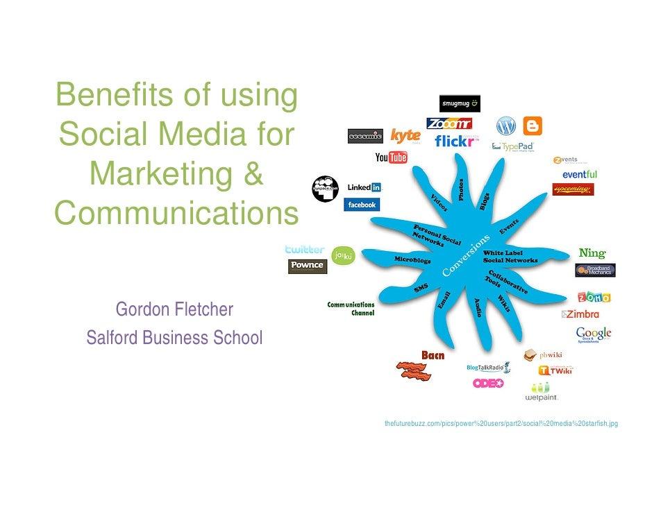 social media marketing benefits pdf