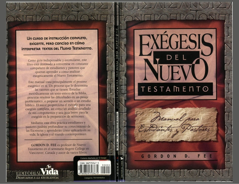 exegesis Los pasos basicos y el ejemplo de una exegesis de mateo 6 usado para la clase de exegesis de efesios de agape instituto biblico profe frank catano.