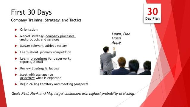30 60 90 Day Sales Action Plan  Slide 3