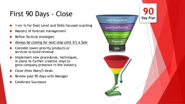 30 60 90 day sales action plan