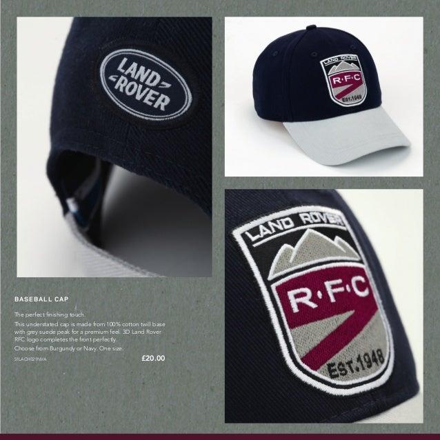 Land Rover Bush Hat Navy: Gordon Lamb Land Rover Rugby World Cup Merchandise