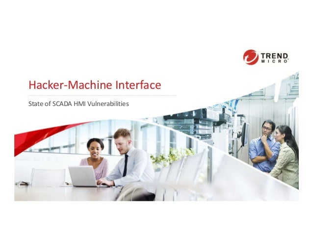 Hacker-Machine Interface State of SCADA HMI Vulnerabilities