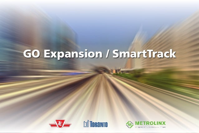 SmartTrack Western Corridor Feasibility Review GO Expansion / SmartTrack