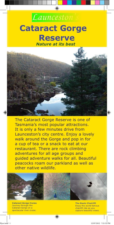 Launceston's                      Cataract Gorge                          Reserve                                       Na...