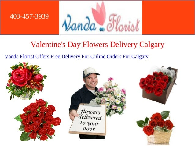 Gorgeous Valentine S Day Flowers Delivery Calgary Vanda