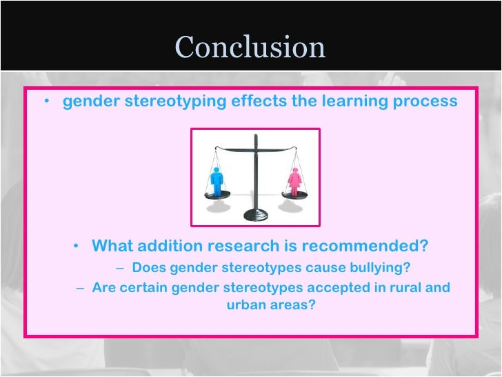 cause effect of gender stereotypes Home » news » long-term effects of stereotyping people who felt they were discriminated against – whether based on gender, age, race or religion.