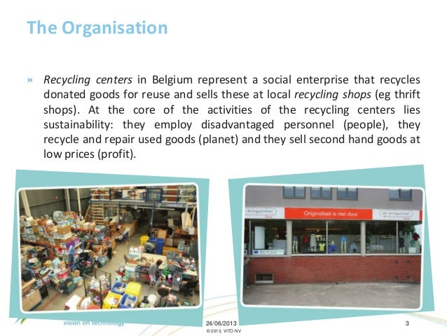 Employing a transition management approachto discover a new role for the social enterprise 'Recycling Shops' in a region aiming at climate neutrality  Slide 3
