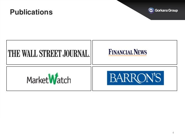 Gorkana Breakfast Briefing with The Wall Street Journal - Dow Jones N…