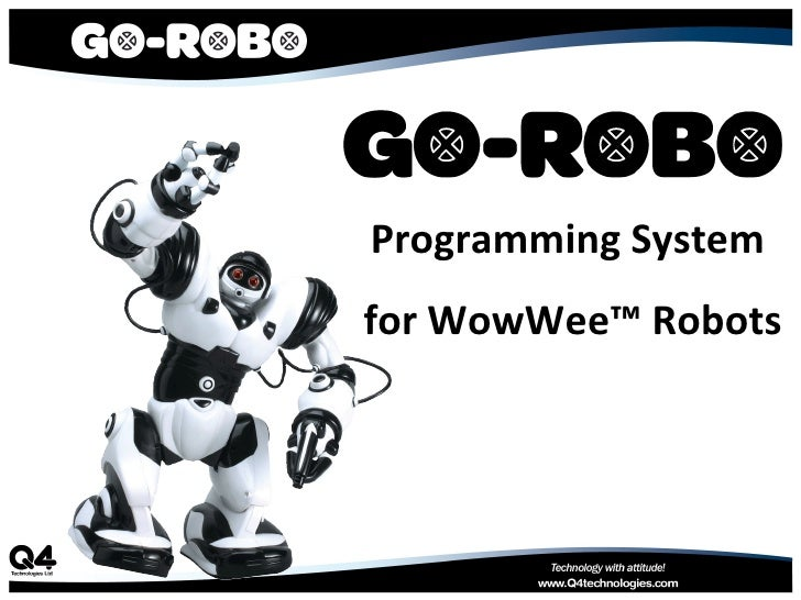 Programming System for WowWee™ Robots