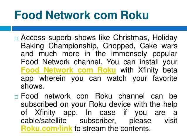Food Network Roku Channel