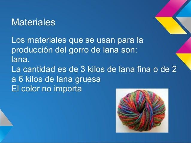 Gorro de lana Slide 2