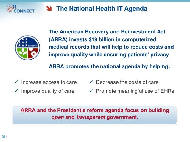 The American Recovery and Reinvestment Act (ARRA) invests $19 billion in computerized medical records that will help to re...