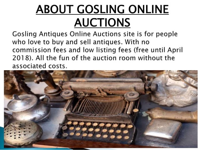 Online Antique Auction Site