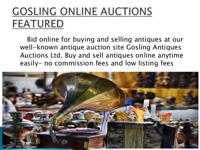 Online Antique Auction Site