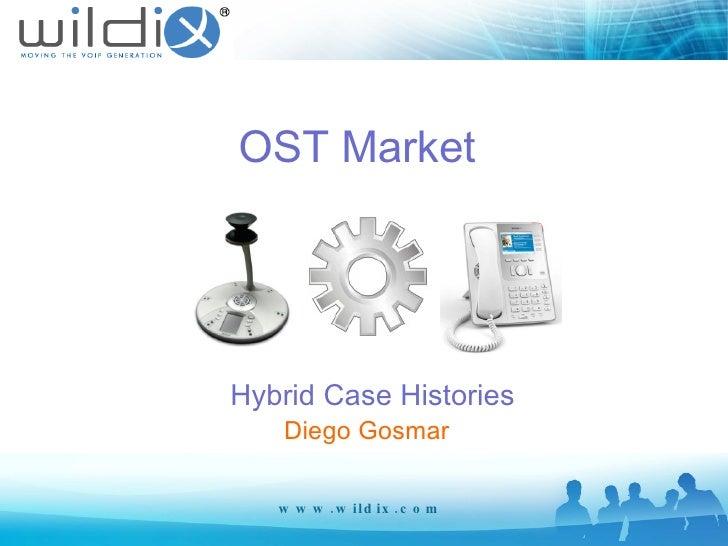OST Market  Hybrid Case Histories www.wildix.com Diego Gosmar