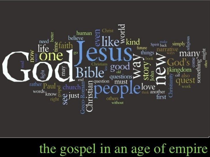 the gospel in an age of empire