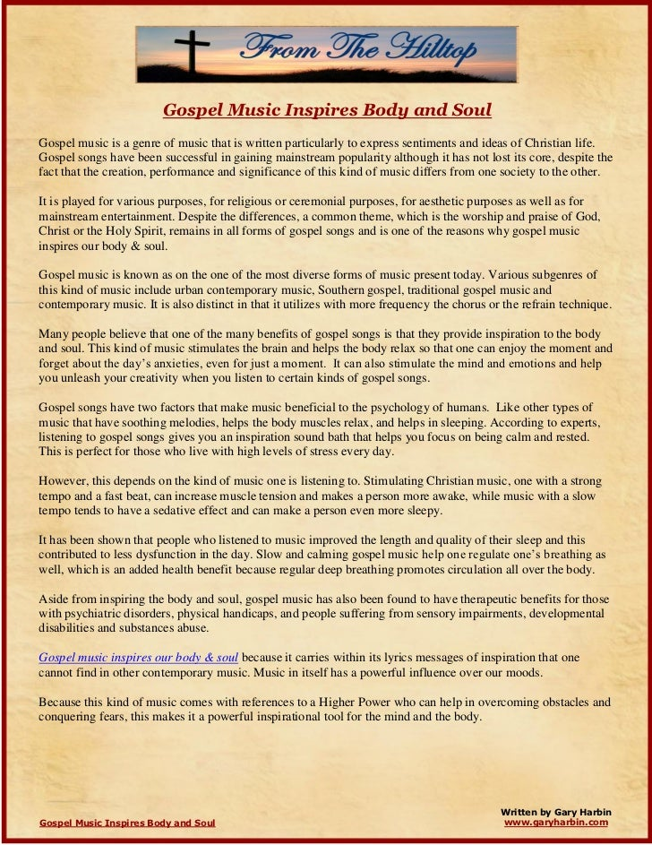 Fast gospel praise and worship songs