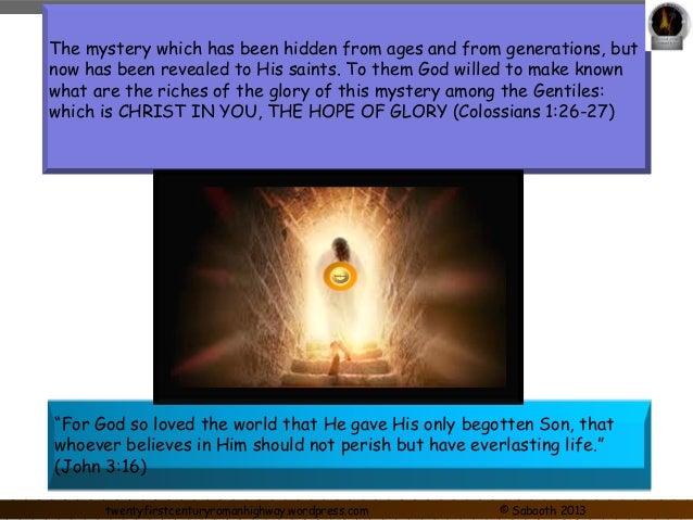 Gospel of Christ Jesus Slide 2