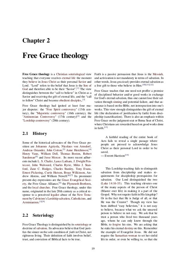 textual theology Historical reformed systems of thought treat classical covenant theology not merely as a point of doctrine or as a central dogma, but as the structure by which the biblical text organizes itself methodist hermeneutics traditionally use a variation of this, known as wesleyan covenant theology, which is consistent with arminian soteriology.