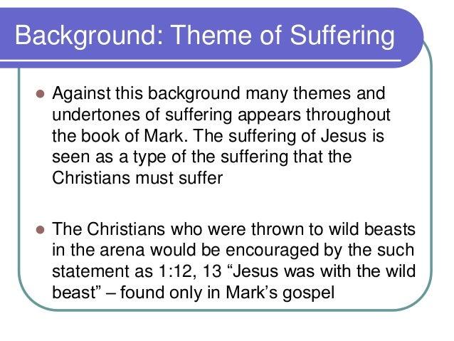 theme of marks gospel