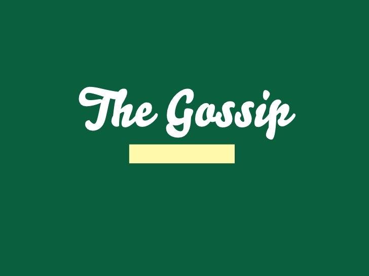 The Gossip   Marcus Frödin