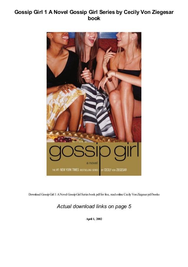 gossip girl 1 a novel gossip girl series by cecily von ziegesar pdf 1 638