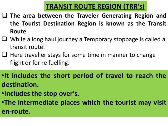 destination region