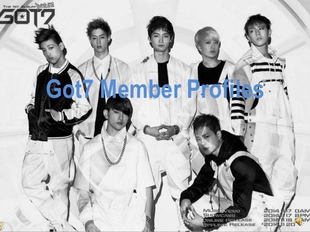 Got7 member profiles