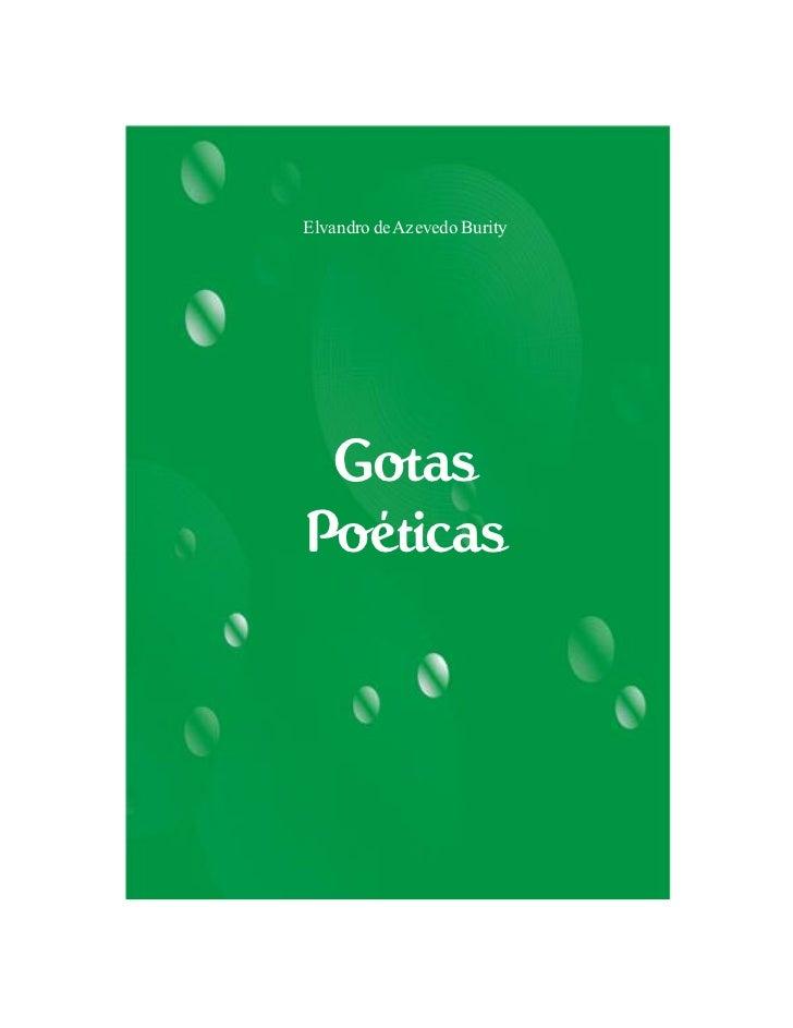 Elvandro de Azevedo Burity GotasPoéticas