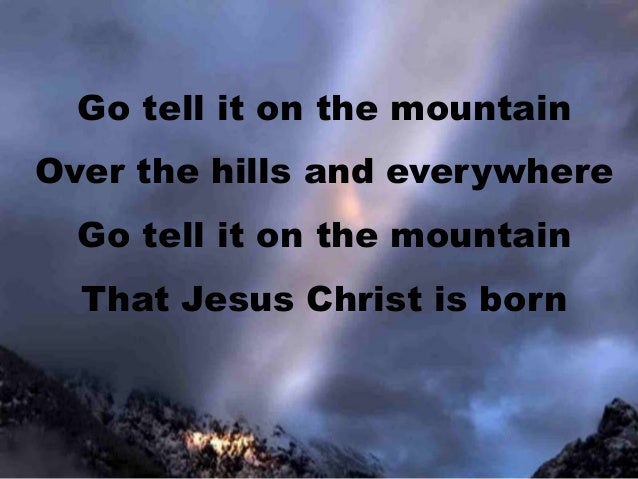 Go Tell It on the Mountain Mandolin Tab   Mandolin in 2019 ...