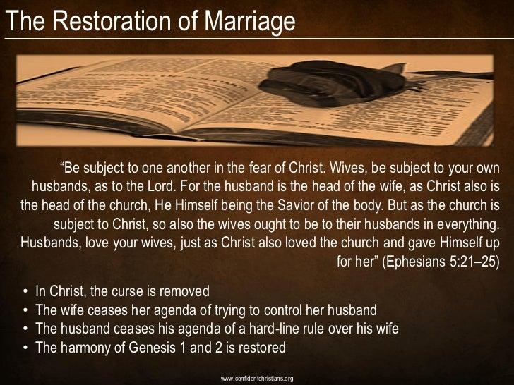 marriage restoration after divorce