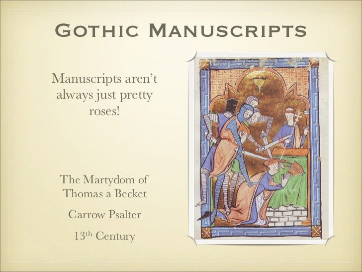 Gothic Period Art History
