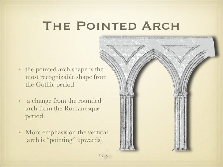 4 The Pointed Archo