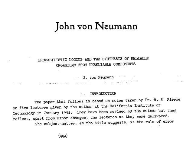 John von Neumann (1951)