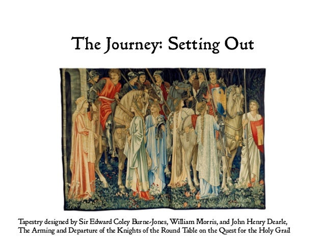 The Journey: Setting Out Tapestry designed by Sir Edward Coley Burne-Jones, William Morris, and John Henry Dearle, The Arm...