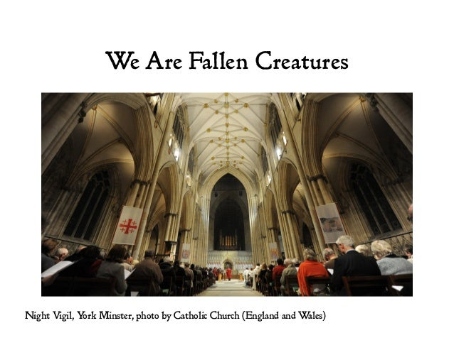 We Are Fallen Creatures Night Vigil, York Minster, photo by Catholic Church (England and Wales)